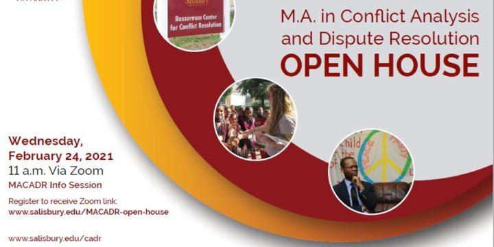 MACADR Open House Today!