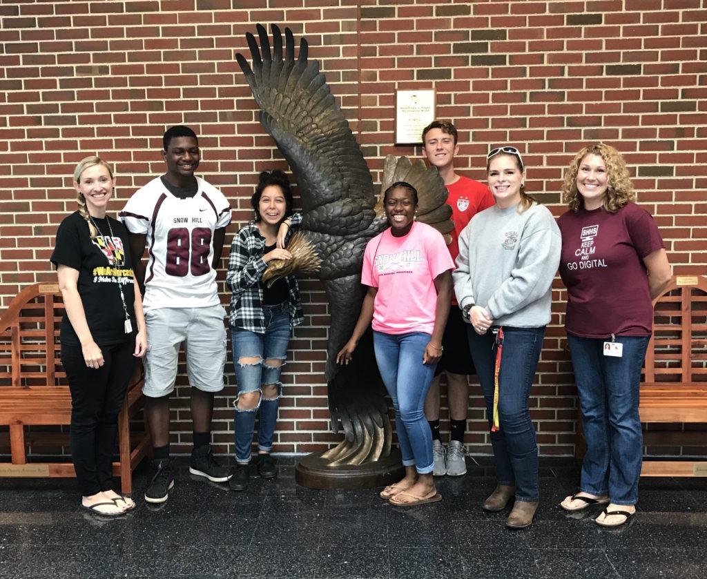 The Peer Mediators at Snow Hill High School