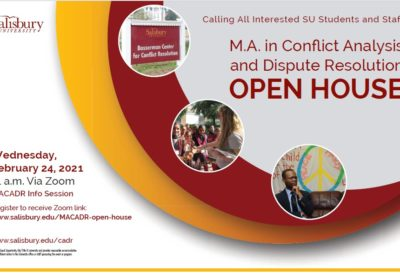 MACADR Open House Today!